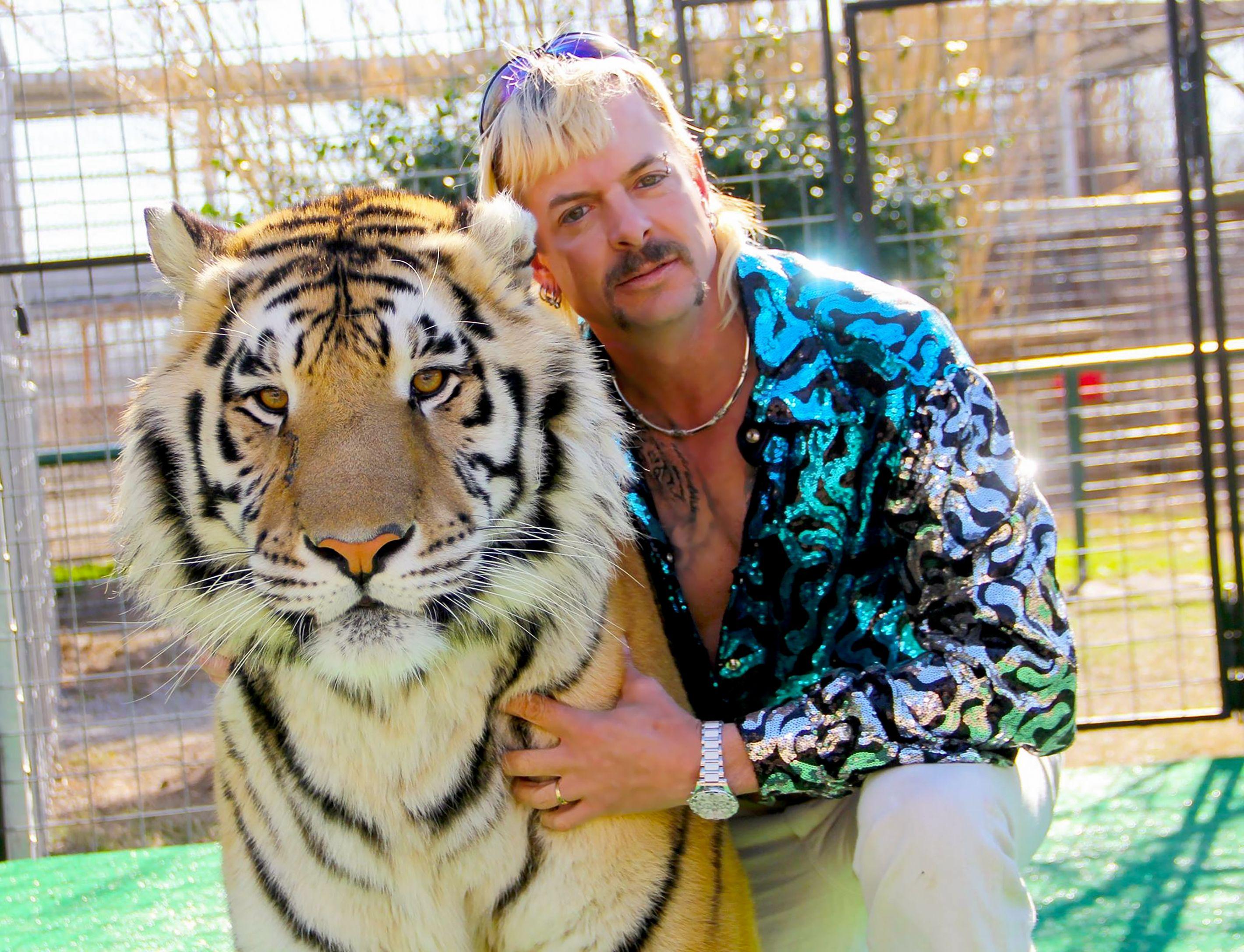 Tiger King Floral Shirt